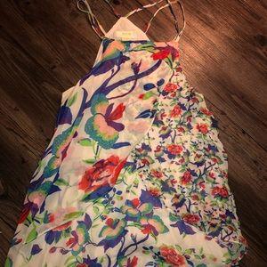 Floral blouse